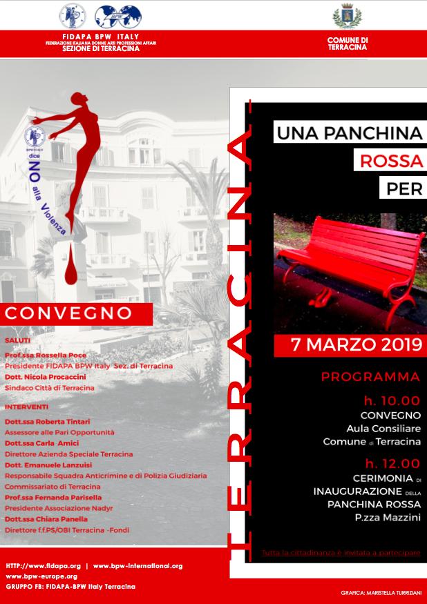 panchina_rossa_fidapa_terracina-2