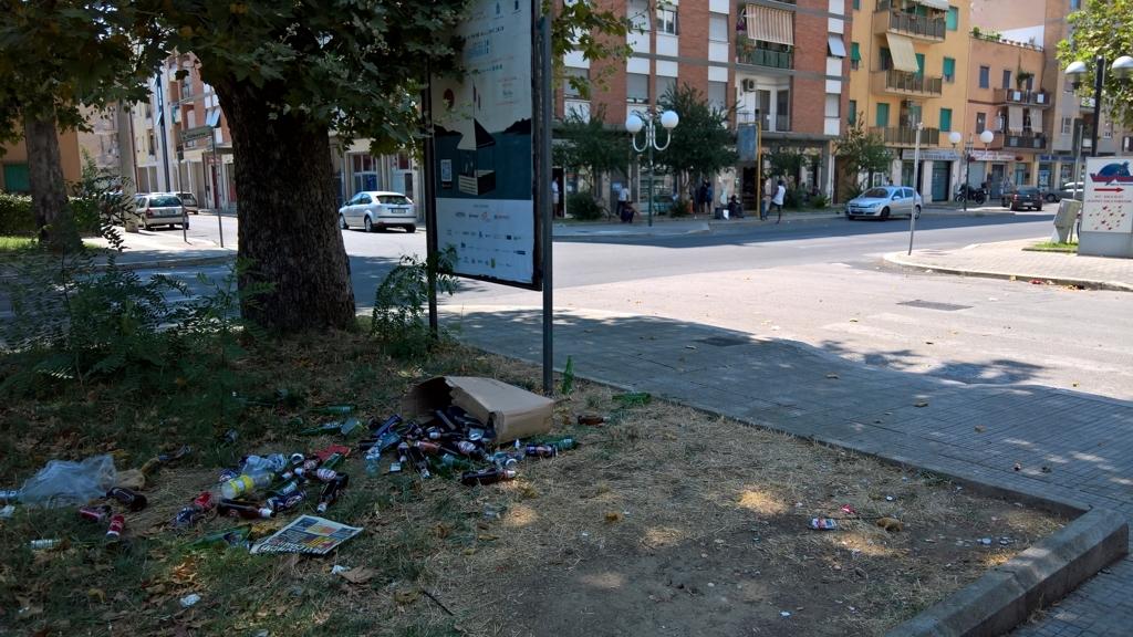 Droga, alcol e degrado del quartiere