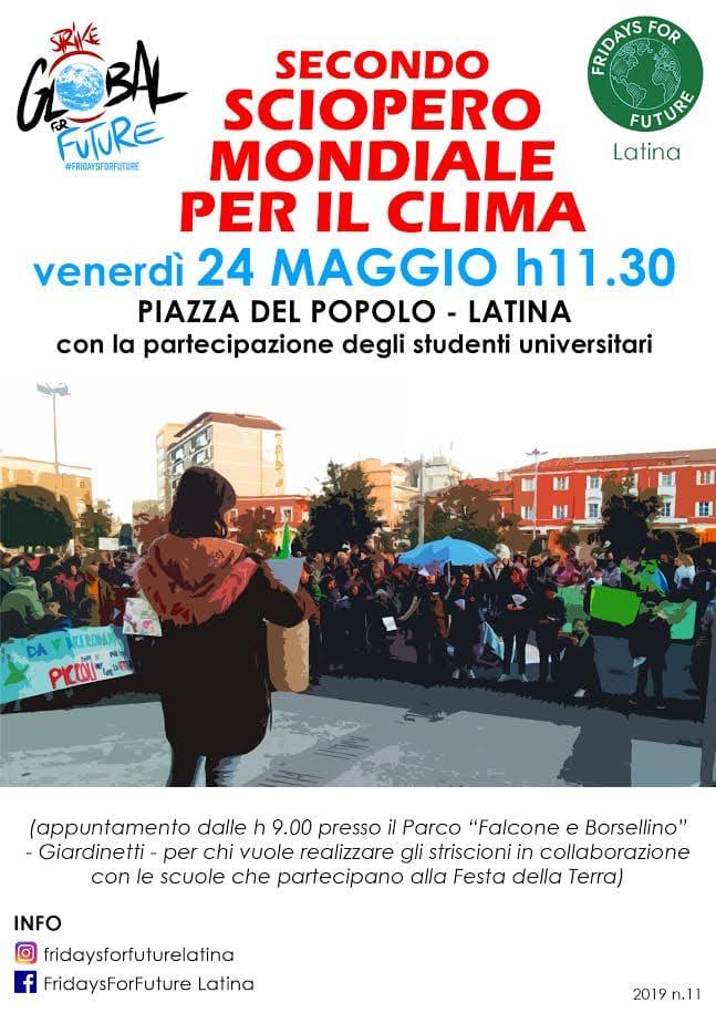 secondo_sciopero_clima_latina_locandina-2