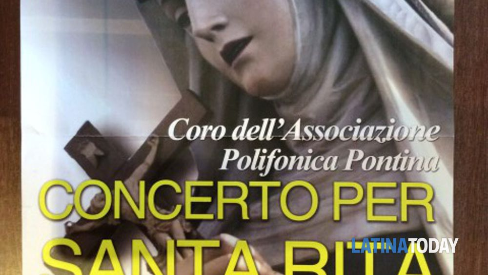 concerto per santa rita - corale dell'associazione polifonica pontina -2