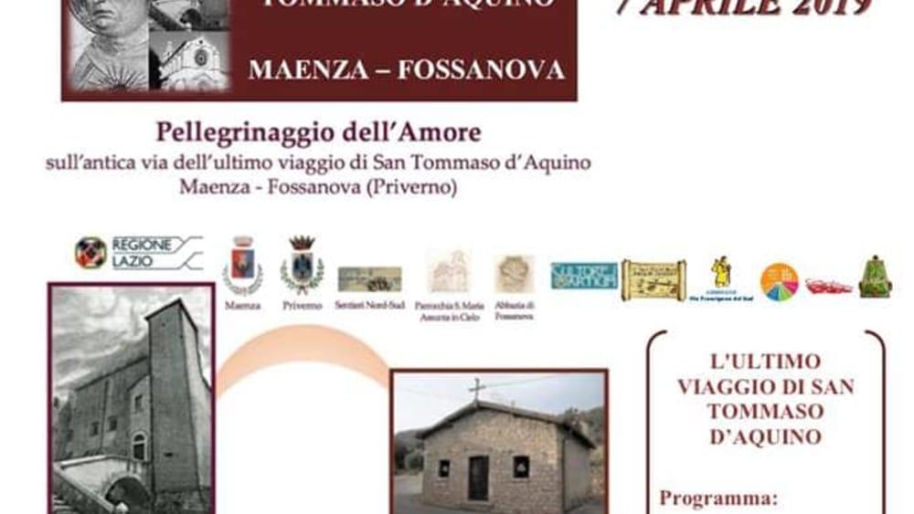 Pellegrinaggio Maenza 2019-2