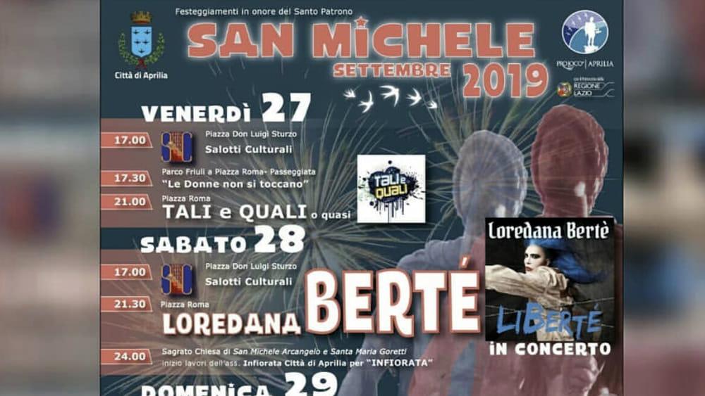 Festa di San Michele Aprilia 2019-2