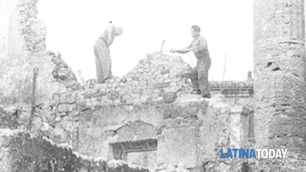 72° anniversario del secondo bombardamento su cori-10