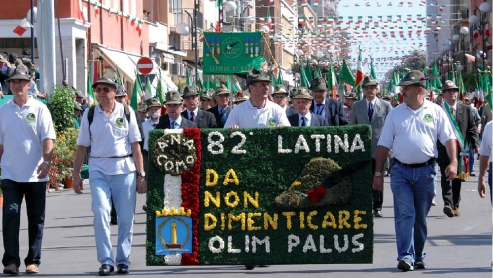 Adunata Alpini a Latina 2009-2