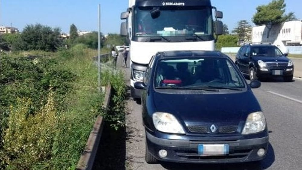 incidente roma-latina 2-2-2