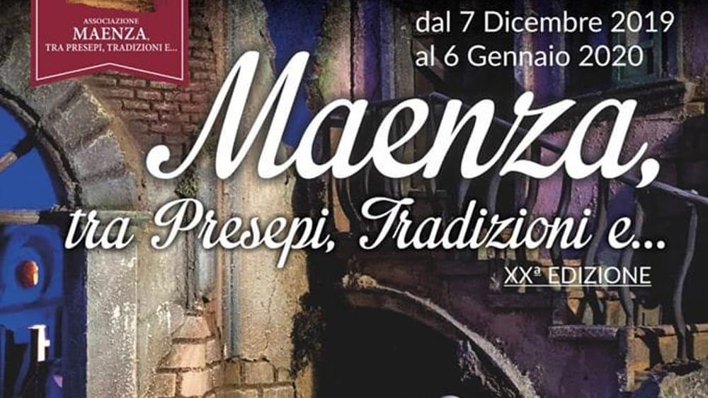 Presepi Maenza 2019-2