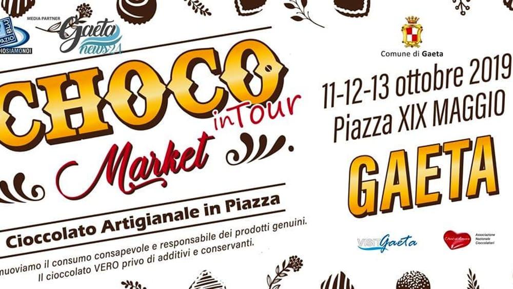 Choco market in tour Gaeta 2019-2