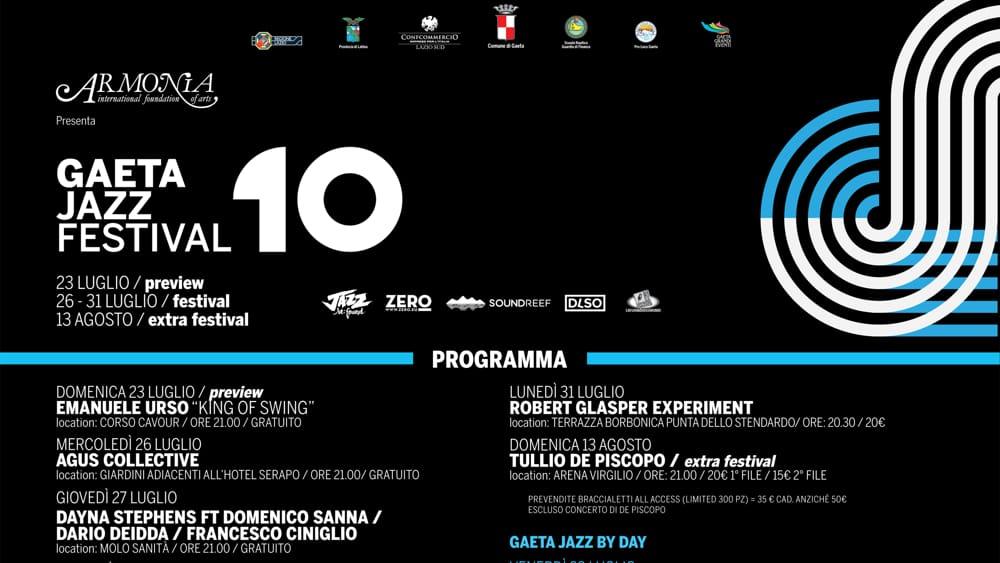 Programma Gaeta Jazz Festival 2017-2