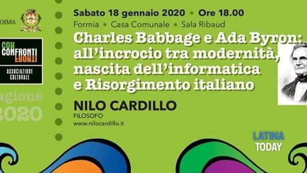 Nilo Cardillo su Charles Babbage e Ada Byron