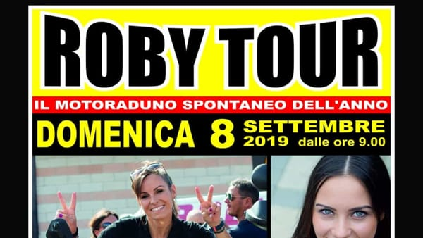 Roby Tour: tutto pronto per la XVII edizione