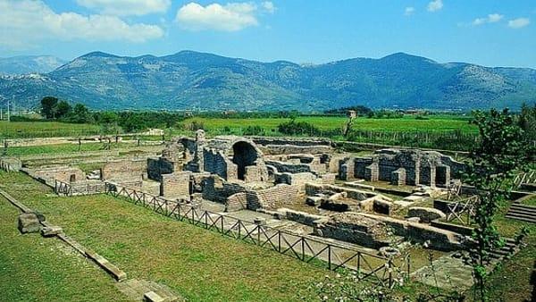 Pasquetta presso l'area archeologica Privernum
