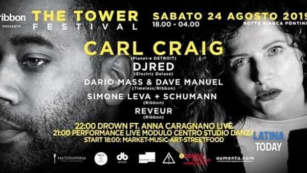 """The Tower Festival 2019"" a Pontinia"