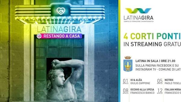 Latina Gira Restando in Casa: cortometraggi pontini in streaming