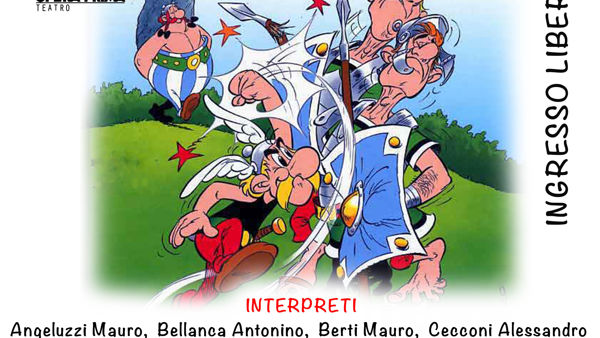 Asterix il Gallico in scena al Ponchielli di Latina