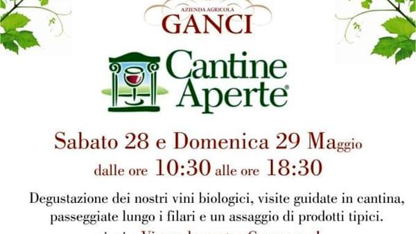 Cantine Aperte: all'Azienda Agricola Ganci visite guidate e relax
