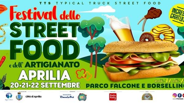 Ad Aprilia arriva io TTS: festival dello street food e dell'artigianato