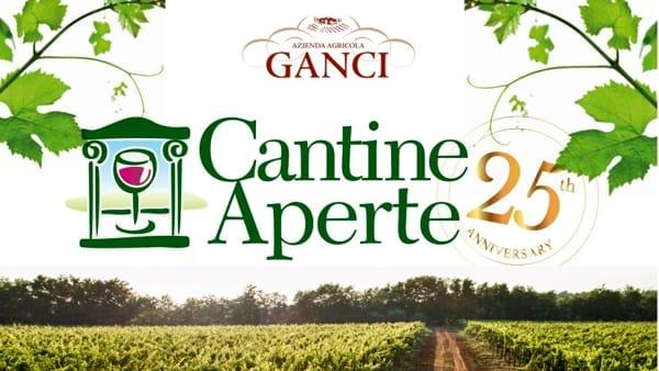 Cantine Aperte: degustazioni e relax all'Azienda Agricola Ganci