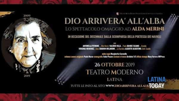 Dio arriverà all'alba: l'omaggio ad Alda Merini al Teatro Moderno