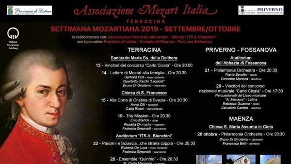Settimana Mozartiana 2019-2