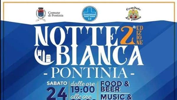 Notte Bianca a Pontinia: tutto pronto per la seconda edizione