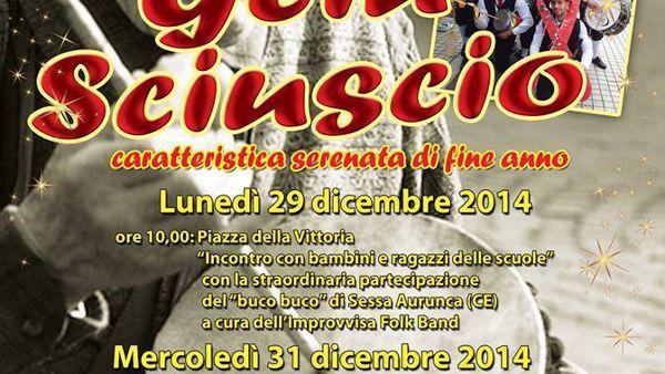 Fine d'anno all'insegna della tradizione a Formia: arrivano Gliù Sciuscio