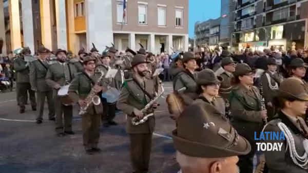 Decennale dell'Adunata degli Alpini, il concerto delle Fanfare | IL VIDEO