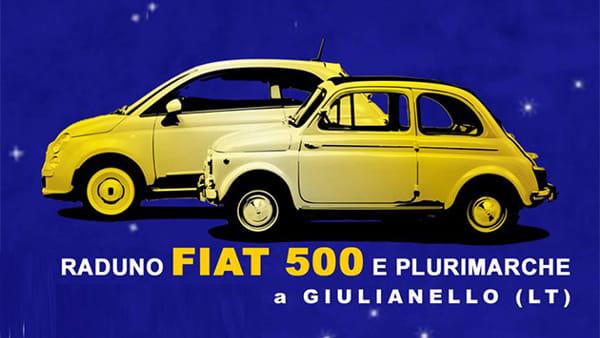 A Giulianello il Raduno di 500 e auto storiche