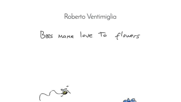 bees make love to flowers-2