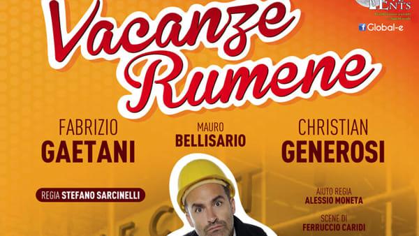 Vacanze Rumene: al teatro Europa torna l'esilarante commedia