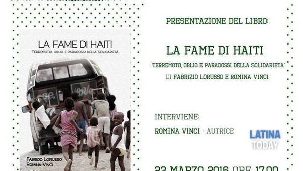 giulianello di cori: 'smemorie' termina con la presentazione del libro 'la fame di haiti'-2
