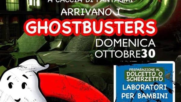 Per Halloween a Latinafiori arrivano i Ghostbusters
