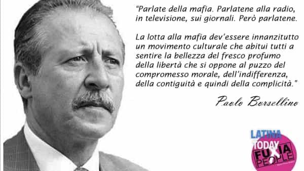 Al Parco del Monturno un incontro per commemorare la memoria di Paolo Borsellino