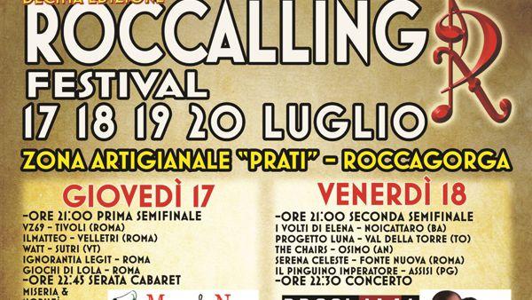 A Roccagorga la decima edizione del Roccalling Festival