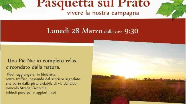 Pasquetta sul Prato: presso l'Azienda Ganci una giornata di relax
