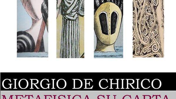 Le opere grafiche di De Chirico in mostra a Latina