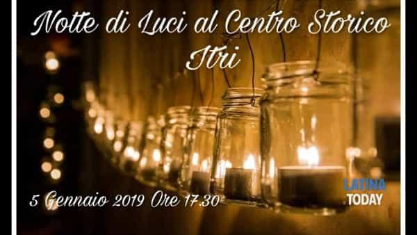 Itri si illimuna: II edizione di Notte di Luci al centro storico