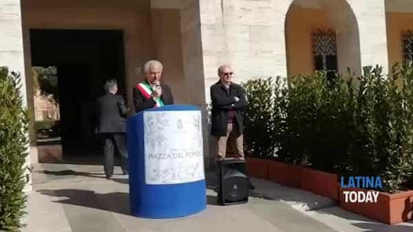 Piazza del Popolo, riaperto il giardino dopo la riqualificazione | IL VIDEO