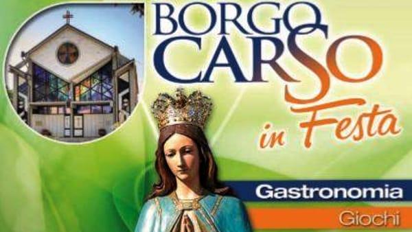 Festa Madonna dei Campi di Borgo Carso: oltre due settimane di eventi