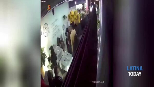 "VIDEO | Rissa e pestaggio in un locale nella zona dei pub a Latina: 5 ""Daspo Willy"""