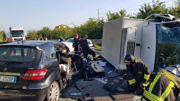 incidente mortale sezze 18 ottobre-2