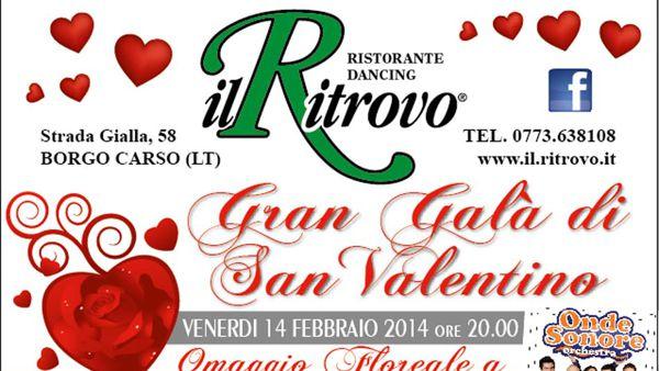 Gran Galà di San Valentino al Ritrovo di Borgo Carso