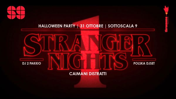 Halloween 2019: Stranger Nights al Sottoscala 9