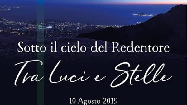 """Formia: """"Sotto il cielo del Redentore: tra luci e stelle"""" nella notte di San Lorenzo"""