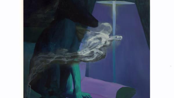 Alessandro Fogo - Incenso, 80 x 100 cm, Olio su tela, 2019-2