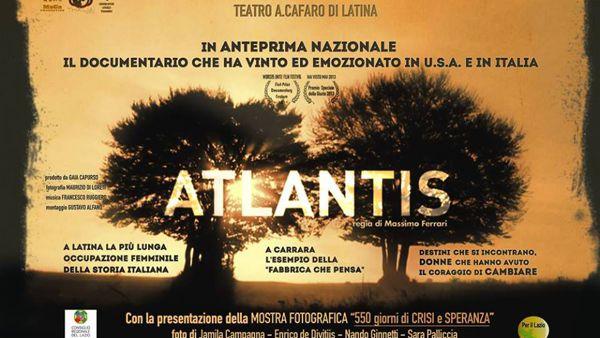 MAP di Pontinia: la celebre mostra che racconta l'occupazione della Tacconi Sud e proiezione di Atlantis