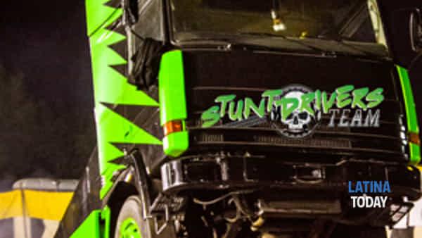 A Latina lo spettacolo acrobatico dello Stunt Drivers Team Rossi