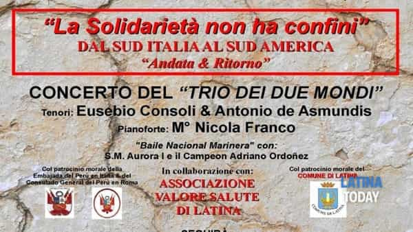 Ama - triciana: a Latina serata di beneficenza per le vittime del terremoto in centro Italia