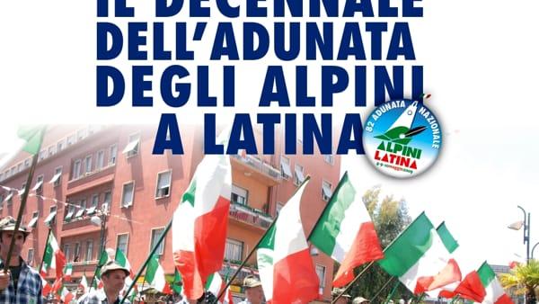 Latina festeggia il Decennale dell'Adunata degli Alpini in città