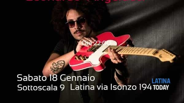 Leonardo Angelucci & band al Sottoscala 9