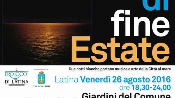 Suoni di Fine Estate: tra arte e cultura Latina saluta l'estate